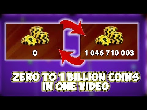 0 Coins To 1 Billion Coins - K's Road To Billion Season 3 [HighLights] - 8 Ball Pool - Miniclip