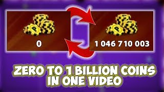 Baixar 0 Coins To 1 Billion Coins - K's Road to Billion Season 3 [HighLights] - 8 Ball Pool - Miniclip