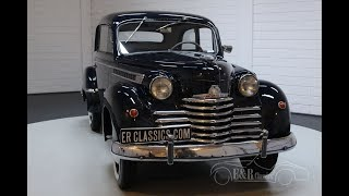 Opel Olympia 1950 Very rare model -VIDEO- www.ERclassics.com