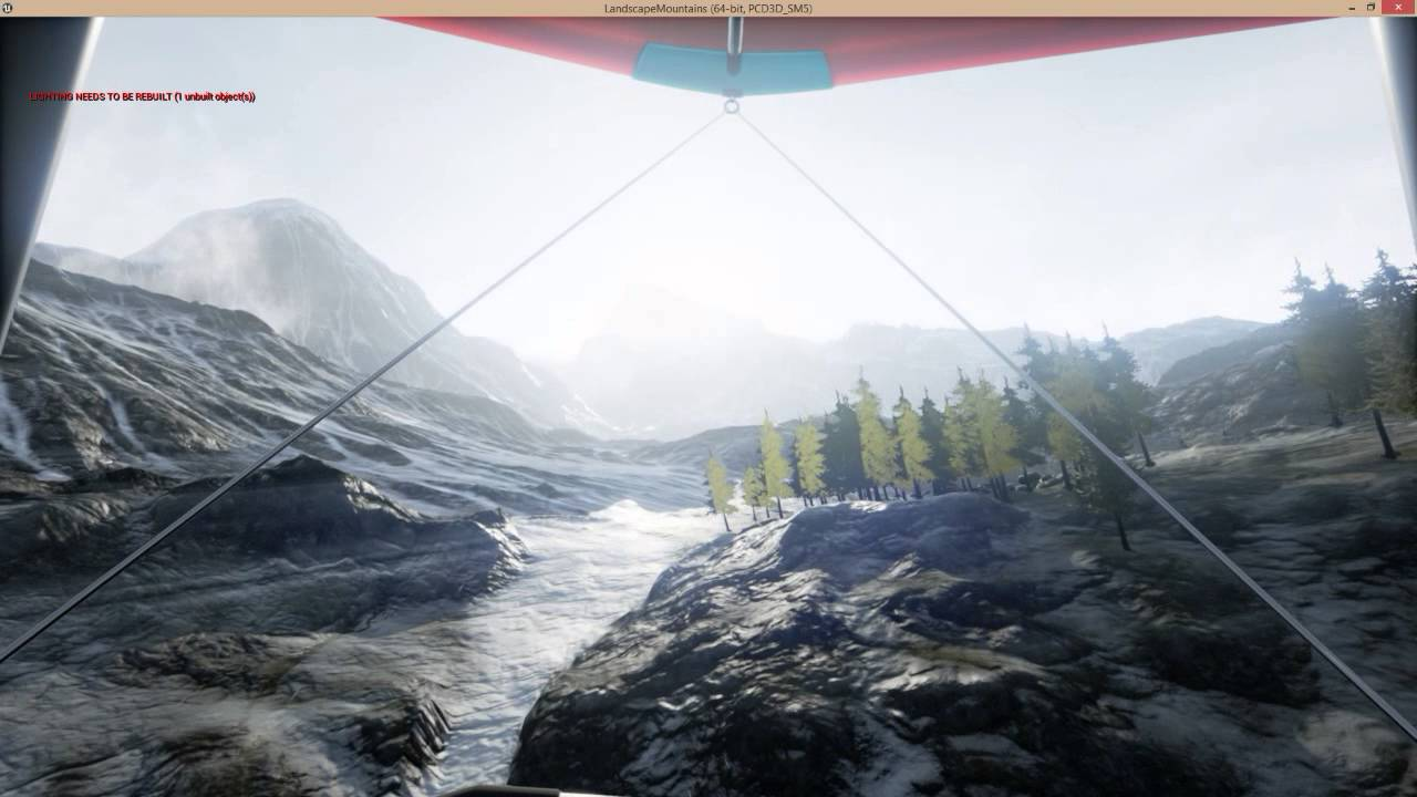 Ue4 hang gliding example with adaptive wind blueprint youtube ue4 hang gliding example with adaptive wind blueprint malvernweather Choice Image