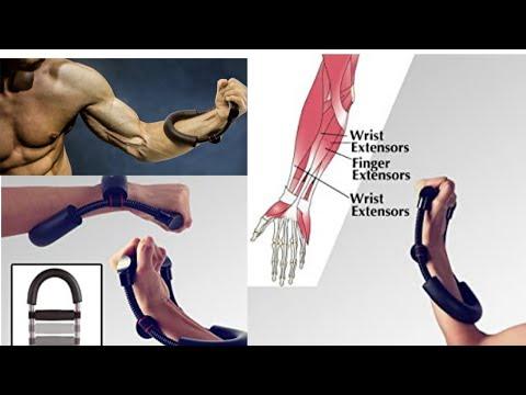 Adjustable Steel Forearm Strengthener Wrist Arm Exerciser