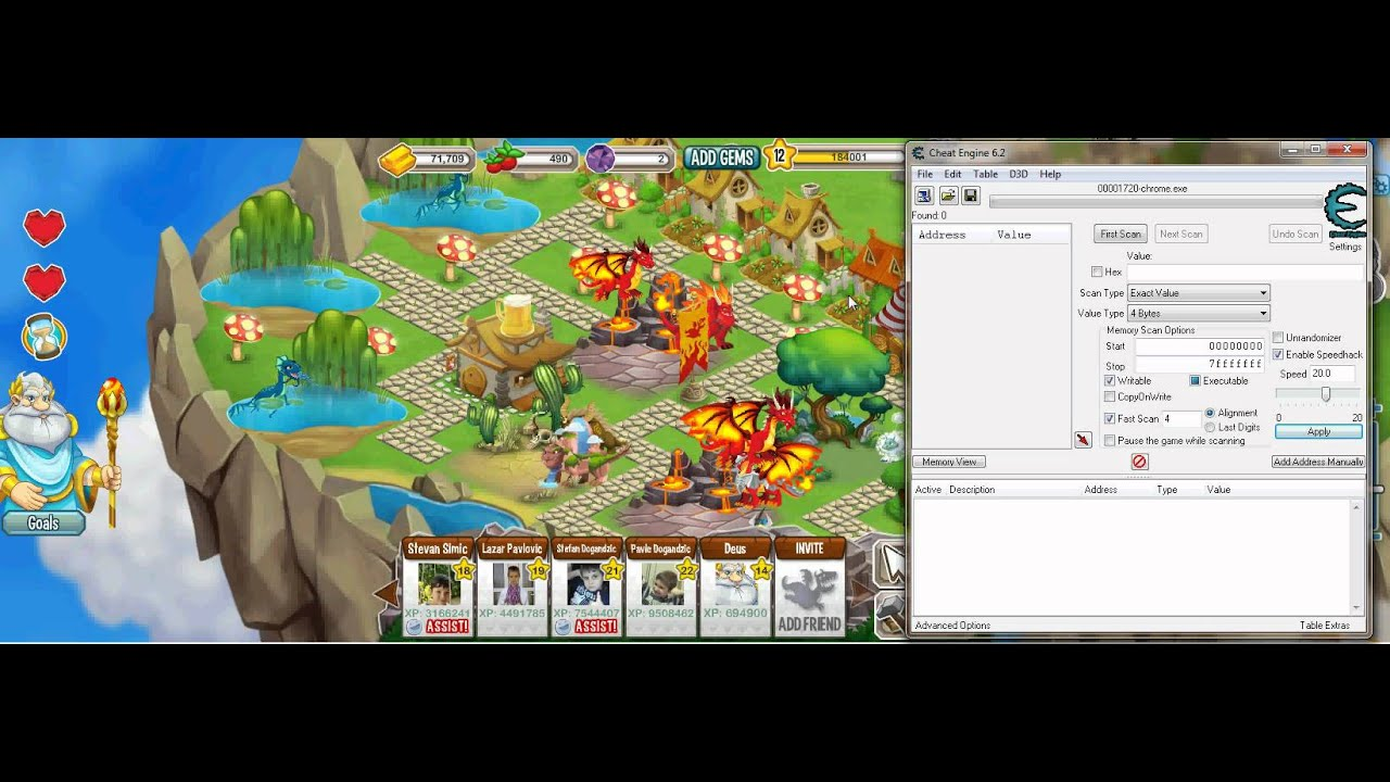 Dragon City Hack 2020 - 99,999 Free Gems & Gold Cheats ...