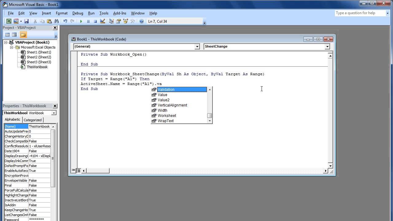 Workbooks workbook definition computer : How to Write Excel Macros via VBA - YouTube