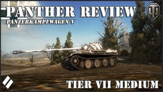 World of Tanks: PZ V Panther Review!