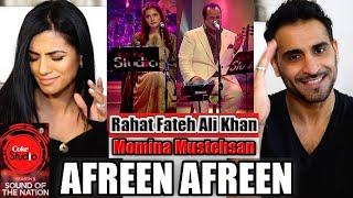 Gambar cover AFREEN AFREEN | Coke Studio REACTION! | Season 9 | Rahat Fateh Ali Khan & Momina Mustehsan