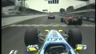 F1 2005年カナダGP アロンソ&ルノーR25 スーパースタート