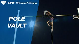 Pawel Wojciechowski jumps 5.93 in the Men's Pole Vault - IAAF Diamond League Lausanne 2017