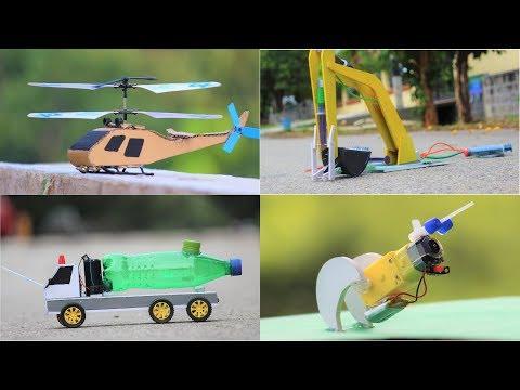 4 Amazing DIY TOYs | Awesome RC Ideas