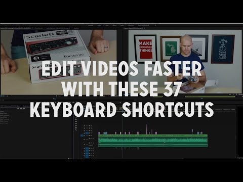 """37 """"Need to Use"""" Keyboard Shortcuts for Premiere Pro"""