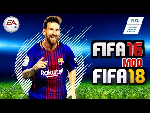 FIFA 16 High Graphics Mod FIFA 18 Android 1.3 GB Real Faces Online