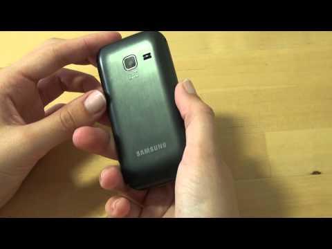 Samsung GT C3750 Test Erster Eindruck