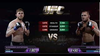 UFC EA Sports Boxing VS Alexander VS Dan Henderson Gameplay