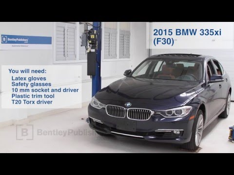 BMW 3 Series 2012-2015 How to Replace Cabin Microfilter DIY