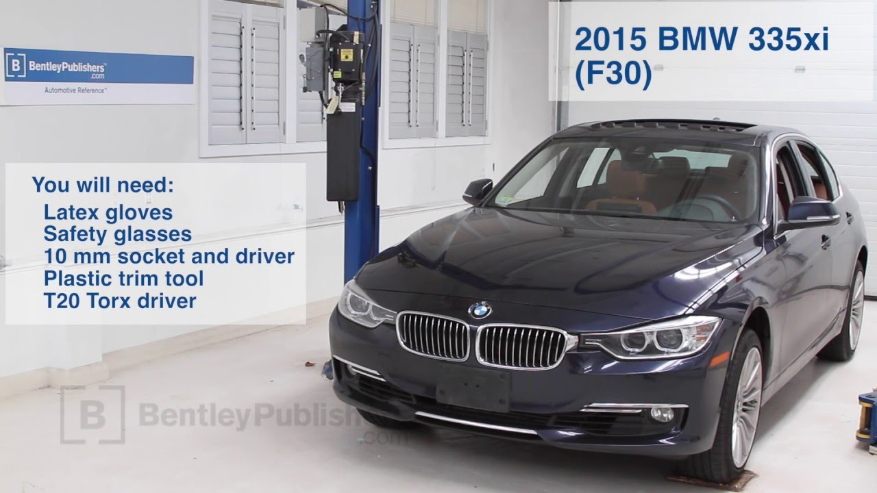 bmw 3 series 2012 2015 how to replace cabin microfilter diy