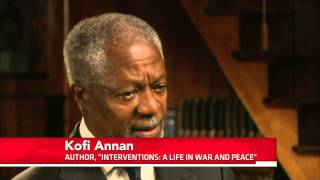Kofi Annan on 40 Years Trying to End War, Promote Peace