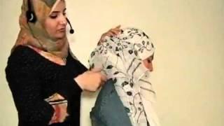 فيديو- حلقات تعليم لفات الحجاب (الحلقة رقم 6).flv
