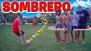 ⚽ SOMBRERO FOOTBALL CHALLENGE!!! *nuova sfida* w/Elites
