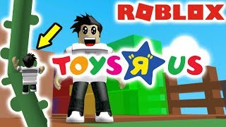 "I made it all the way to the top of the TOYS ""R"" US obby / Roblox"