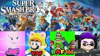 Super Smash Bros. Ultimate Live (VAF Livestream #48 Part 2)