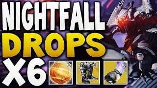 Destiny - NIGHTFALL DROPS x6  (NEW EXOTICS !)