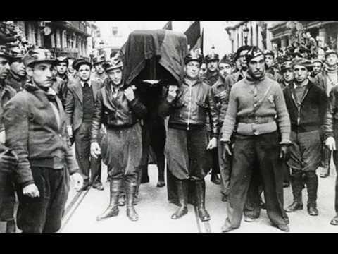 Ernst Busch - Vorwärts, Internationale Brigaden