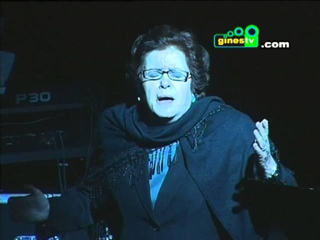 """Actuación Justa Ruiz en """"La Pasión según Andalucía"""""""