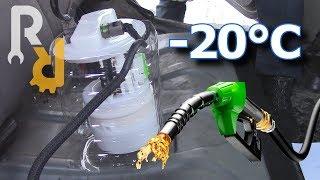 Какой РЕАЛЬНЫЙ расход топлива на прогреве (холостом ходу) в -20. | Эксперимент Ремонт Рено.