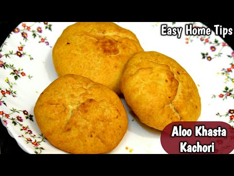 Khasta Aloo Kachori Recipe हलवाई स्टाइल खस्ता आलू कचोरी Aloo Kachori with Eng Subs Aloo Kachori