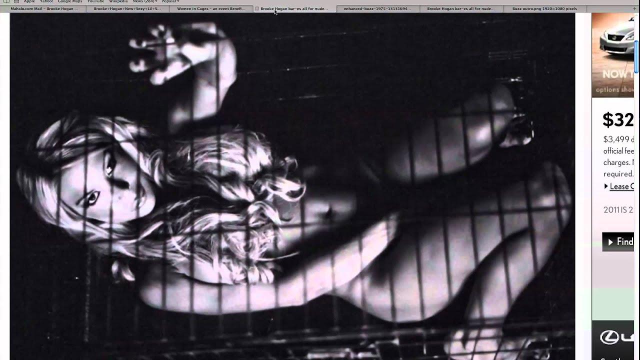 Brooke Hogan Nude Images for Peta - Nude Leanna Decker