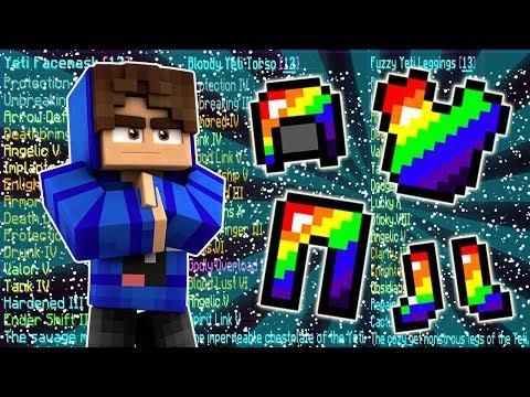 FULL 13 LORE YETI GOD SET! | Minecraft FACTIONS #11 | CosmicPVP Monster Planet