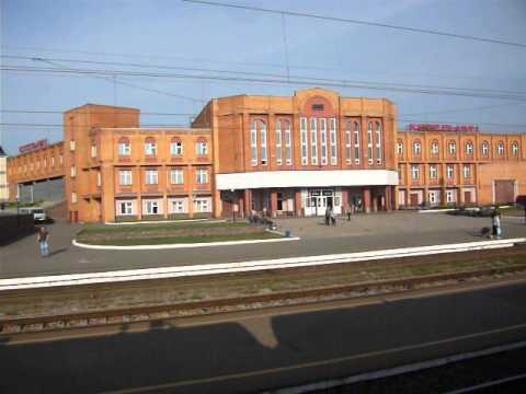 Кировская обл, станция Котельнич с поезда
