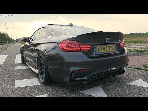 BMW M4 F82 W/ Fi Exhaust - LOUD Revs, Accelerations, POP & BANGS!!