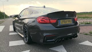 BMW M4 F82 w/ Fi Exhaust - LOUD Revs, Accelerations, POP & BANGS!!