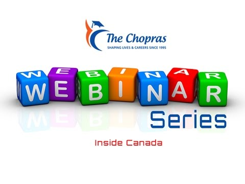 Webinar - Study in Canada -  One of the world's wealthiest nations and best places to live