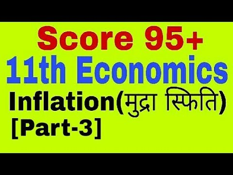 Inflation [Part-3] Class 11 Economics, Govt policy for Inflation