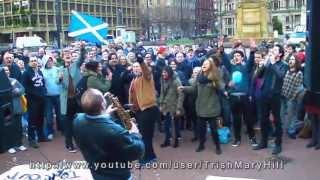 Thatcher Death Party - Glasgow Celebration 8th April 2013