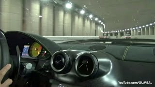 [RIDE] Ferrari 599 GTO - Accelerations & Downshifts in the Tunnel!