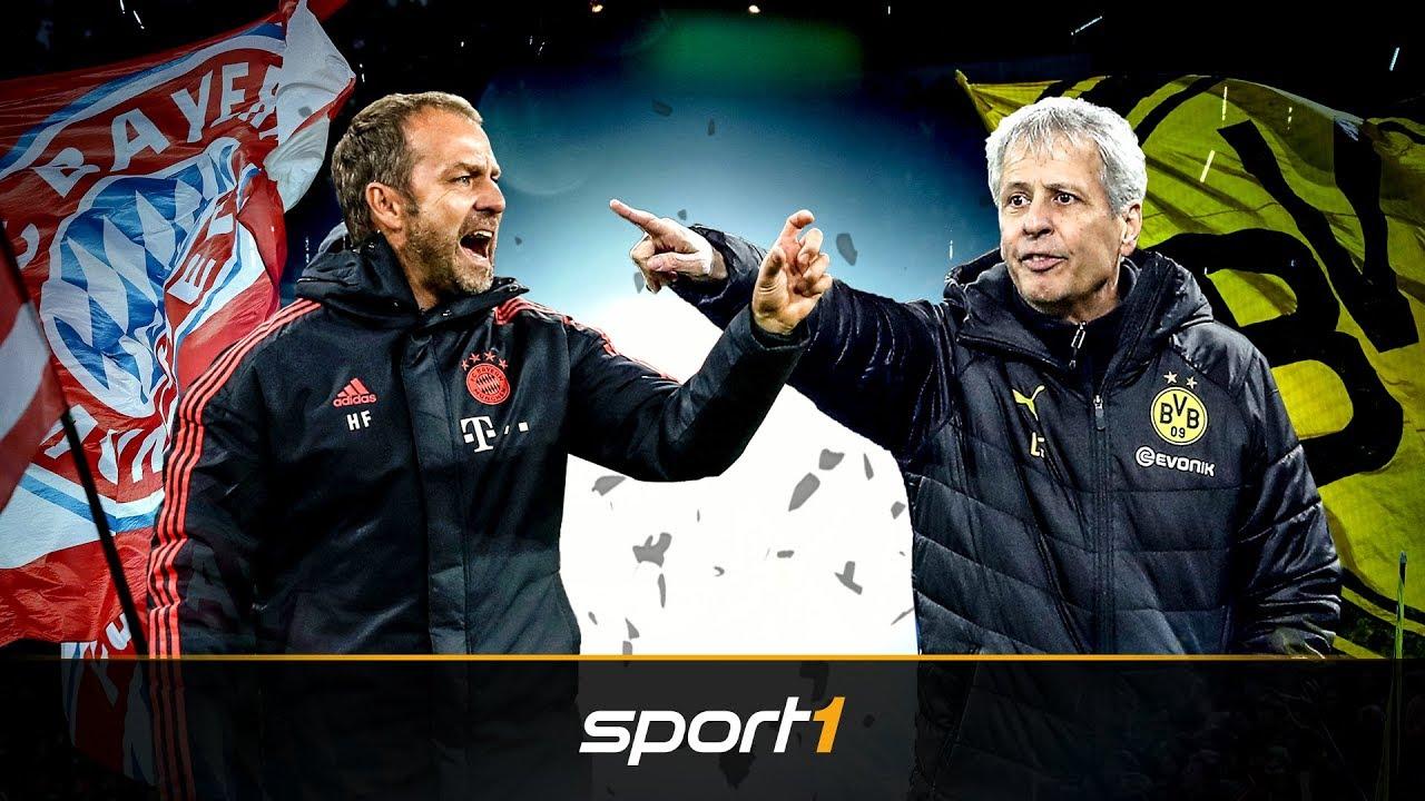 FC Bayern vs. BVB: Hansi Flick und Lucien Favre vor dem deutschen Clasico | SPORT1