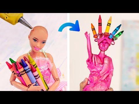 14 DIY School Supplies! Barbie Style!