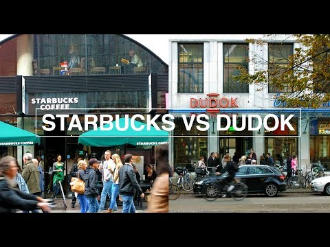 INTERIOR : STARBUCKS VS DUDOK (Local Café)