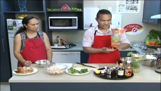 tasty fresh lime chicken salad recipe pacific heartbeat   heart foundation