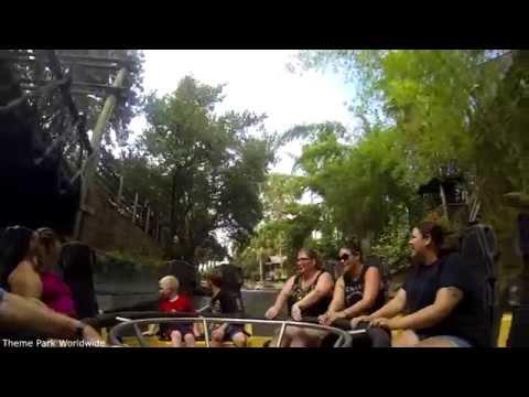 Congo River Rapids On Ride HD POV Busch Gardens Tampa