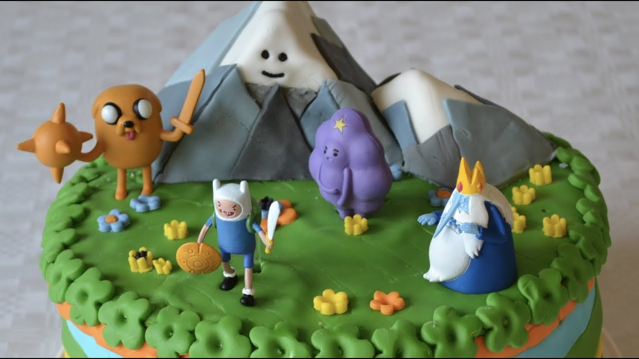 The Best Adventure Time Cakes Youtube