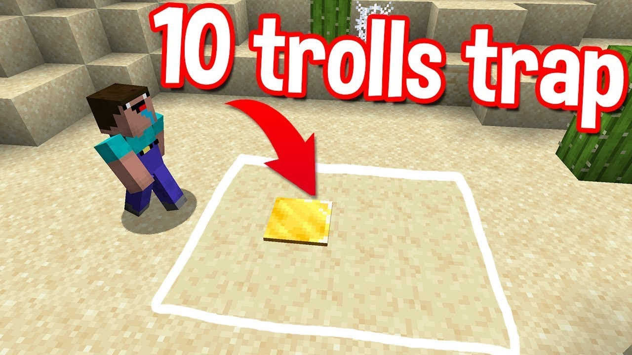 BEST 10 ONLINE TRAPS IN MINECRAFT BY SCOOBY CRAFT PART 8 COOL