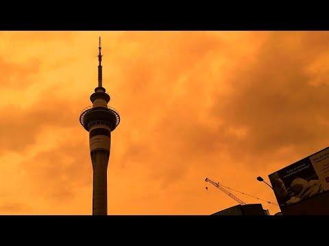 Watch Sky Over Auckland, New Zealand Turn Orange From Bushfires Raging In Australia