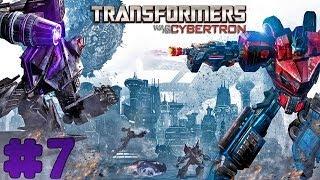 Transformers: War for Cybertron - Walkthrough - Part 7 - Kaon Prison Break (PC) [HD]