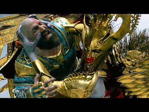 God Of War 4 Mimir Love Story with The Valkyrie Queen (Valkyries Story) PS4 2018