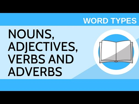 Nouns, Adjectives, Verbs And Adverbs - Word Types I