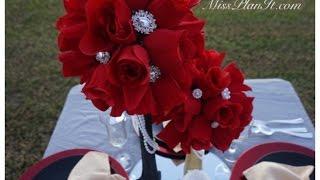 How To: DIY Quick Tip Rose Blossom Wedding Centerpiece