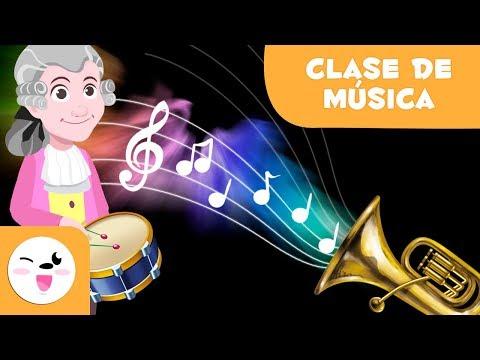 Clase de Música | Aprende las figuras e instrumentos musicales